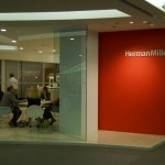 Herman Miller main entrance at Neocon 2011