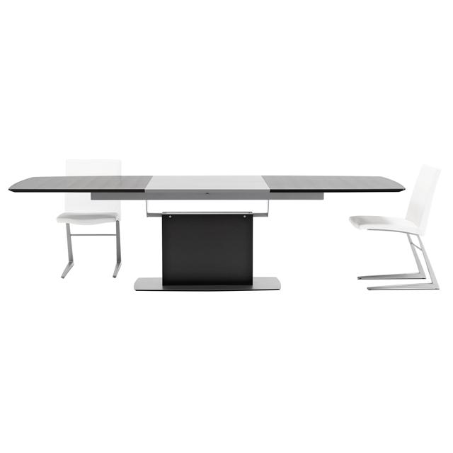 Large extending dining table by boconcept design engine for Boconcept dining table