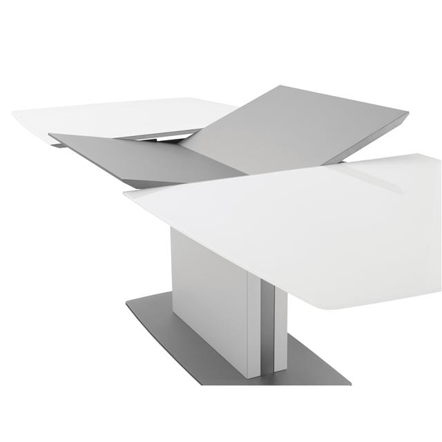 Large extending dining table by boconcept design engine - Table bo concept occasion ...