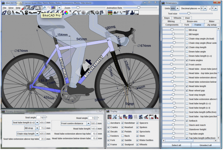 Beautiful Design A Bike Online #2: ... BikeCAD Lets You Design Your Dream Bicycle Online, ...