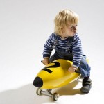 Child and Torpedo Scooter