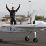 More recently his attentions have turned to electric flight where on July 19th he once again exceeded 200 mph this time in a single prop electric plane.