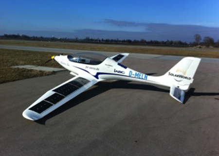 A solar augmented version of the plane boast a longer range
