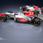 Daniel Simon Creates Livery for HRT Formula 1 Car
