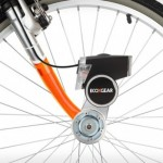 EcoXPower converts pedal-power into electricity for both headlights and a smartphone