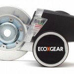 EcoXPower's wheel-hub based power-plant contains a lithium-ion battery to ensure the lights stay on when come to a stop