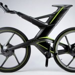 The CERV concept bike dynamically adjusts the position of the headset based on the terrain being covered