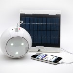 Pharox offers a dual purpose solar phone charger LED light