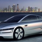 VW's ultra light, ultra aerodynamic XL1 Plug In Hybrid