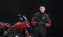 Ducati's Multistrada D-Air, with wireless airbag jackets.