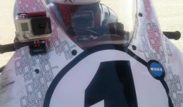 The #1 plate.  Check out the fist graphics on the back of Bart' helmet.  Vinyl graphics are taken serious at Design Engine