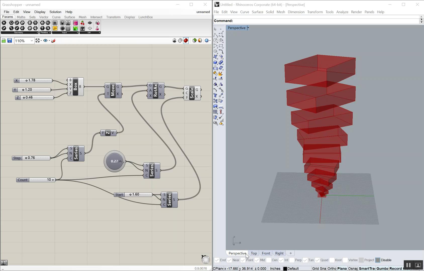 Rhino Grasshopper Training - Design Engine