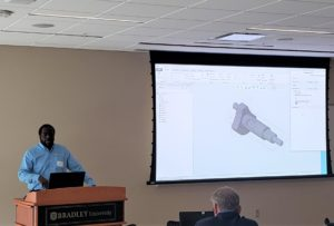 Mike at 2019 Peoria PTC User Group