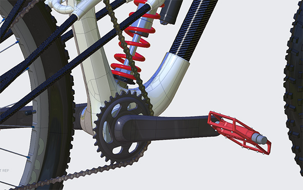 Learn Creo with this bicycle Creo 6.0